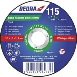 Tarcza do cięcia DEDRA F13422 125 x 1.5 x 22.2 mm do kamienia