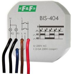 F&F PRZEKAŹNIK BISTABILNY BIS- 404
