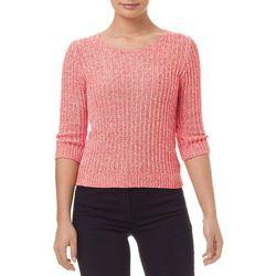 Sweterek z modnym Patentowo- dzianym wzorem
