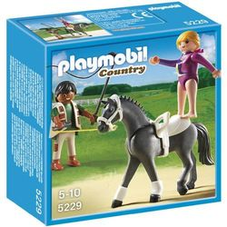 Playmobil PLAYMOBIL TRENING WOLTYŻERKI Trening woltyżerki 5229
