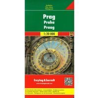 Praga Plan Miasta 1:20 000
