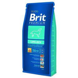 BRIT Premium Lamb&Rice 15KG