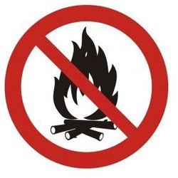 Zakaz rozpalania ognia