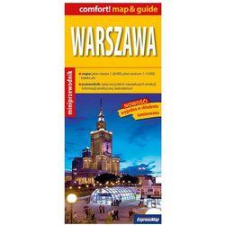 Warszawa map & guide 1:26 000 - Wysyłka od 3,99 - porównuj ceny z wysyłką (opr. miękka)