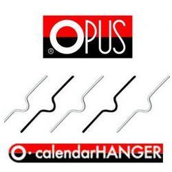 150 mm, Zawieszki do kalendarzy Opus, metalowe zawieszki do kalendarza [500szt.]