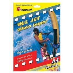 Papier fotograficzny A4 20 kartek
