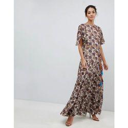 c26261eff4 suknie sukienki suknia wieczorowa maxi klasyczna druhna szkarlat (od ...
