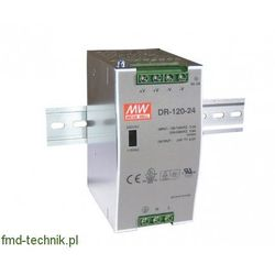 Zasilacz DIN Mean Well DR-120-24 24V/5A 120W