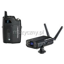Audio Technica ATW-1701P System 10 cyfrowy system bezprzewodowy na kamerę z mikrofonem lavalier Płacąc przelewem przesyłka gratis!