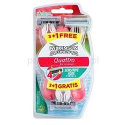 Wilkinson Sword Quattro for Women Sensitive maszynki jednorazowe + do każdego zamówienia upominek.