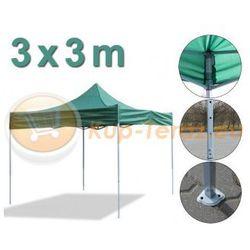 Pawilon Namiot Ogrodowy 3x3m Wodoodporny Ekspresowe Rozkładanie 3x3