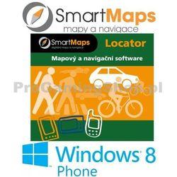 Nawigacja dla Windows Phone 8-Smart Maps Locator-Szczegółowa mapa Słowacji-01:10 000