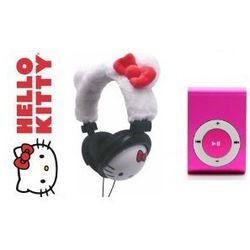 Słuchawki Dla Dzieci Hello Kitty Odtwarzacz MP3 F