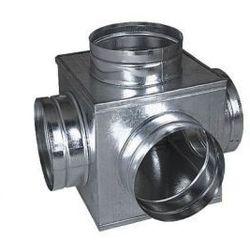 Skrzynka rozdzielcza sześcian 160/4x125mm ocynk