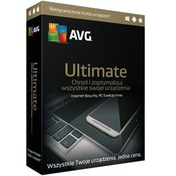 Program AVG Ultimate Multidevice (Subskrypcja 1 rok)