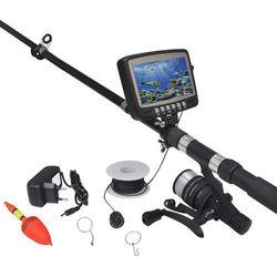 """vidaXL Podwodna kamera wędkarska z wyświetlaczem 4,3"""" Darmowa wysyłka i zwroty"""