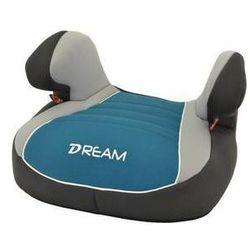 Fotel samochodowy Nania Dream Luxe 2015 Agora Petrole 15-36 kg Czarna/Niebieska