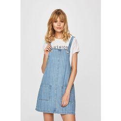 eafed5d07d suknie sukienki lee sukienka jeansowa delft blue - porównaj zanim kupisz