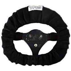 Pokrowiec na kierownicę TRS (350mm) - Czarny