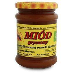 Miody Sznurowski: miód gryczany BIO - 380 g