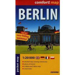 ExpressMap Berlin laminowany plan miasta 1:20 000 mapa kieszonkowa (opr. miękka)