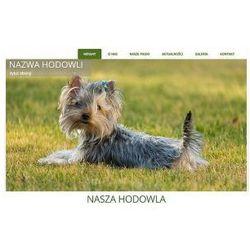 Szablon Joomla / WordPress dla hodowli psów SH2b