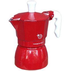 Kawiarka Top Moka Coccinella czerwona - 1 filiżanka