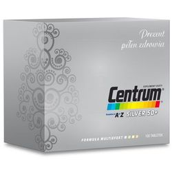 Centrum A-Z Silver 50+ Multiefect 100 tabl