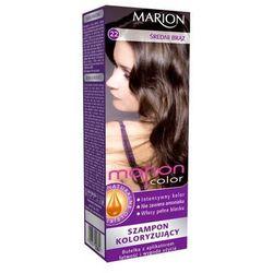 Marion Szampon koloryzujący Marion Color nr 22 średni brąz