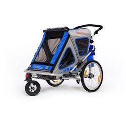Qeridoo przyczepka rowerowa SpeedKid 2 blue model 2016 - Gwarancja terminu lub 50 zł! - Bezpłatny odbiór osobisty: Wrocław, Warszawa, Katowice, Kraków