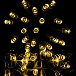LAMPKI CHOINKOWE KURTYNA NA DOM 400 DIOD CIEPŁO BIAŁYCH - 400 LED / 15 METRÓW