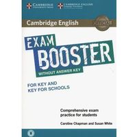 Cambridge English Exam Booster for Key and Key for Schools Without Answer Key with Audio (opr. miękka)