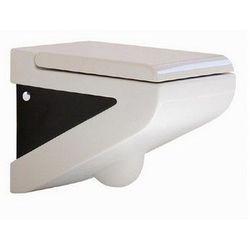 Art Ceram La Fontana miska wc wisząca biało czarna LFV00101;50