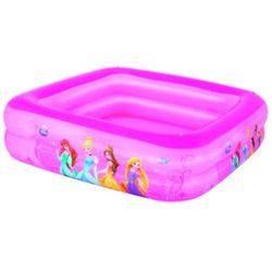 Bestway, Księżniczki Disneya, basen dmuchany z daszkiem, 147x147x122 cm Darmowa dostawa do sklepów SMYK
