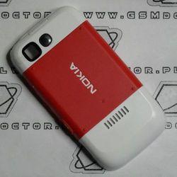 Obudowa Nokia 5200 tylna / pokrywa baterii czerwona