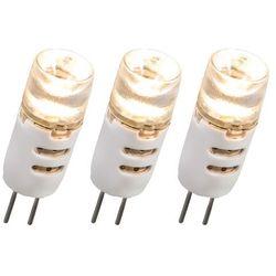 Zestaw 3 żarówek LED G4 1.5W 12V 80LM