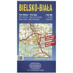 Bielsko-Biała. Plan miasta. 1:20 000 Witański (opr. Miękka)