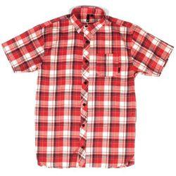 koszule FALLEN - Emery Washed Red Ward (WARD)