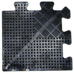 Ochronna gumowa mata podłogowa puzzle inSPORTline 1,2cm