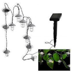 Lampki solarne dekoracyjne latarenka DECOS 3,8 metra 304452 POLUX/SANICO