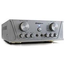Skytronic Wzmacniacz karaoke TM200 Srebrny
