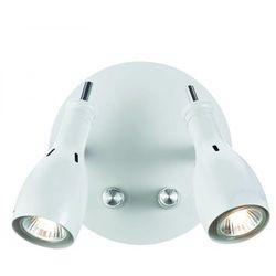 Kinkiet LAMPA ścienna LAMMHULT 102656 Markslojd halogenowa OPRAWA ze ściemniaczem biała