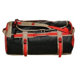 The North Face BASE CAMP DUFFEL L Torba podróżna fiery red/black