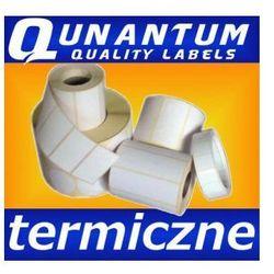 Etykiety termiczne 32x20, białe etykiety samoprzylepne, rolka 2 tys.