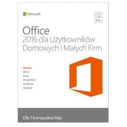 Program Microsoft Office 2016 dla Użytkowników Domowych i Uczniów dla komputerów Mac