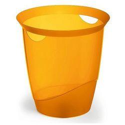 Kosz na śmieci Durable Trend 16L pomarańczowy-przezroczysty 1701710009