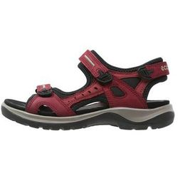 ecco OFFROAD Sandały trekkingowe chili red/concrete/black