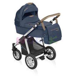 Wózek wielofunkcyjny Lupo Dotty Baby Design (Denim granatowy)