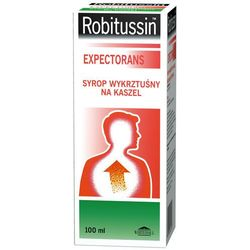Robitussin expectorans wykrztusny syrop x 100ml