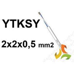 KABEL TELEFONICZNY 2x2x0,5mm2 YTKSY parowany / 100mb